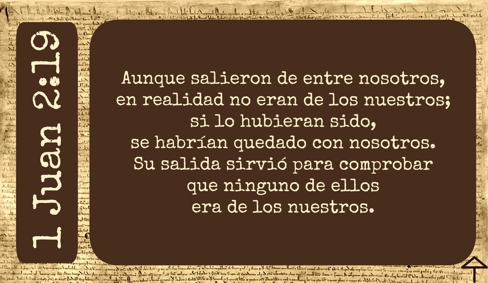 1 Juan 2 19