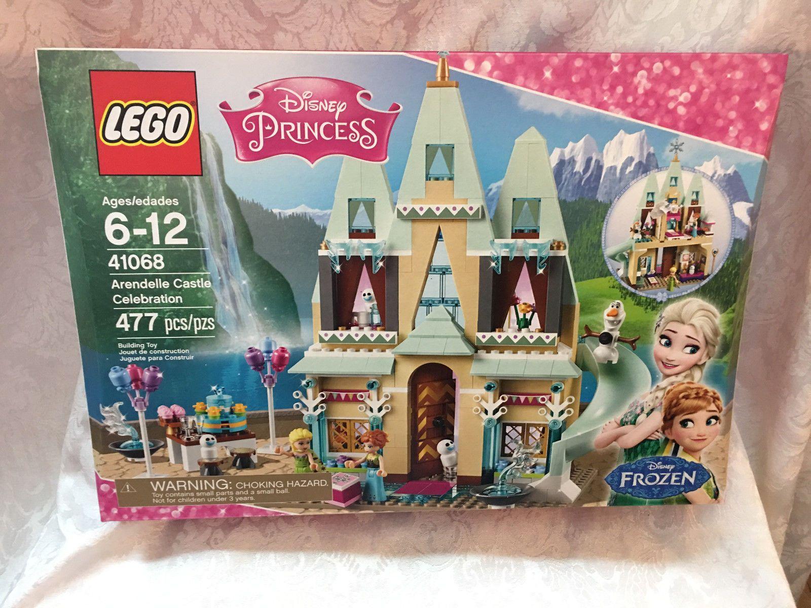Disney Princess 41068 ARENDELLE CASTLE CELEBRATION Frozen 477 Pieces New In Box!