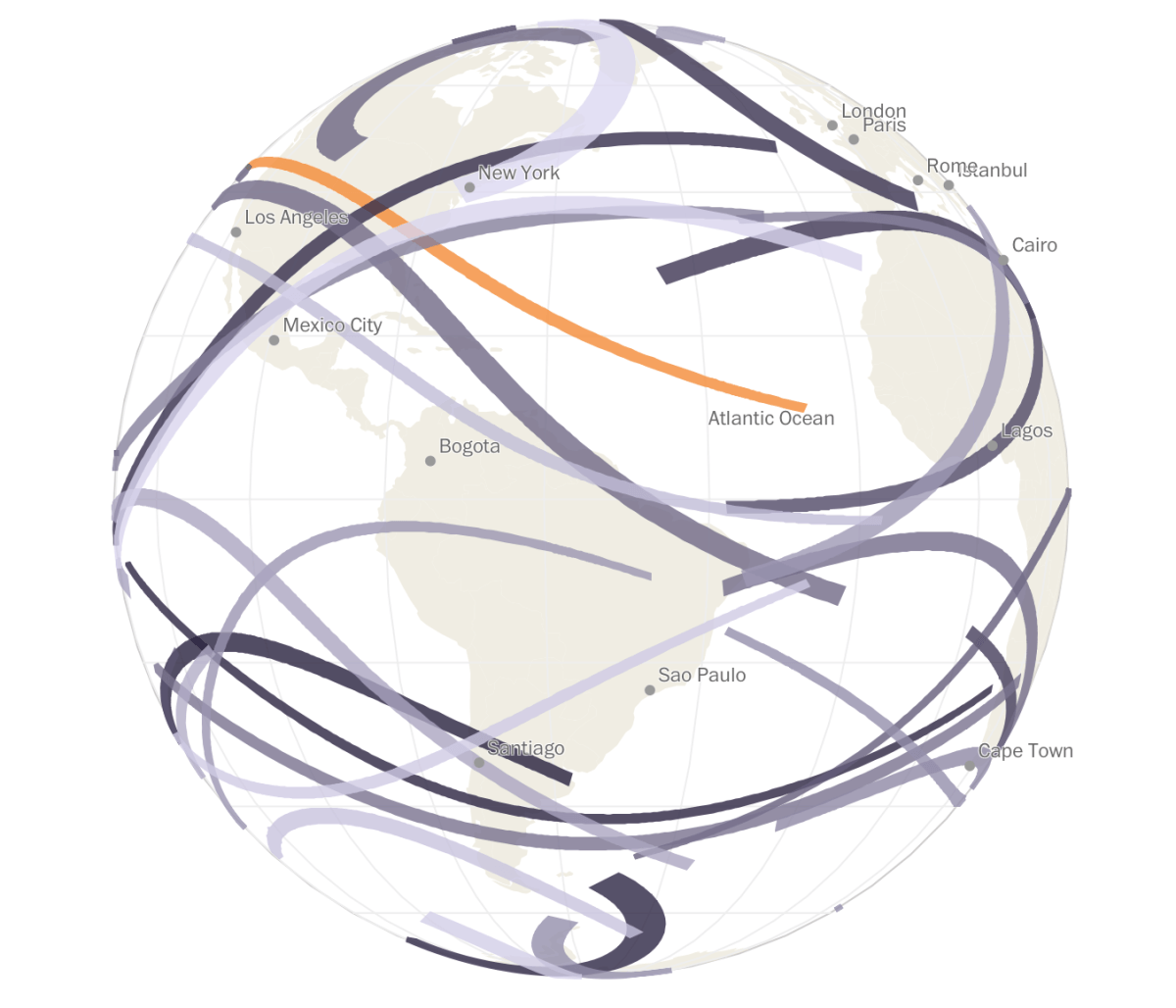Every Solar Eclipse In Your Lifetime Flowingdata Data Visualization Examples Data Visualization Information Visualization