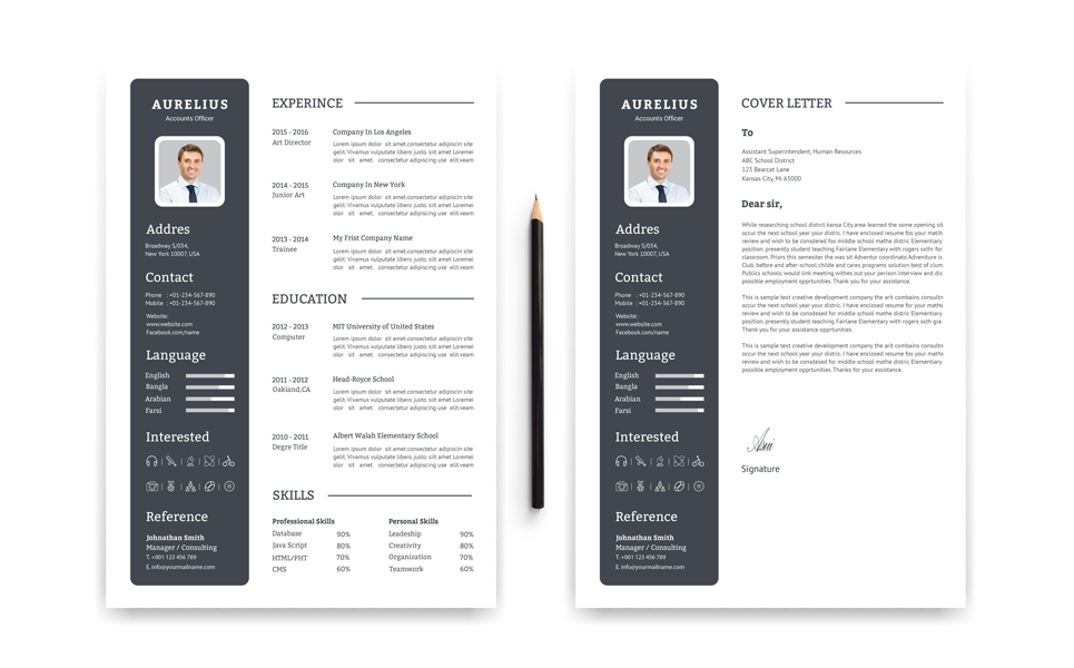 Aurelius Accounts Officer Resume Template 68262