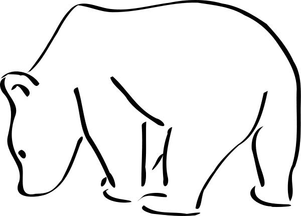 Pin By Jared Brannon On Tattoo Bear Sketch Bear Drawing Polar Bear Drawing