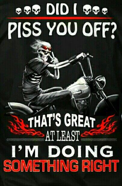 Hahahahahaha | skulls | Pinterest | Bikers, Harley ...