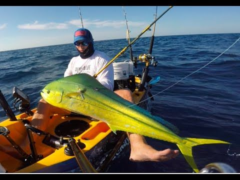 Mahi Mayhem Extreme Kayak Fishing Bahamas Kayak Fishing