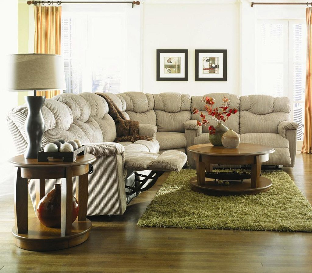 Living Room Design With Sectional Sofa Delectable Simple Beige Lazy Boy Corner Unit For Sectional Sofa  Home Decor Decorating Design