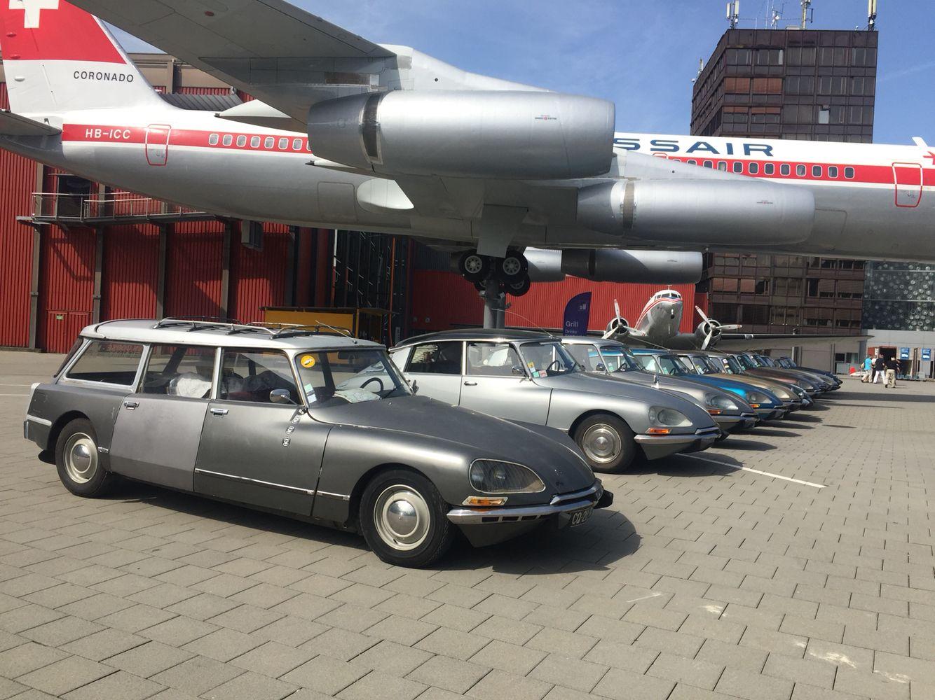 DS Treffen im Verkehrshaus der Schweiz