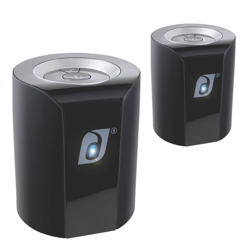Damson Jet Bluetooth Wireless Stereo Speakers and Metal Mount Bundle #Damson