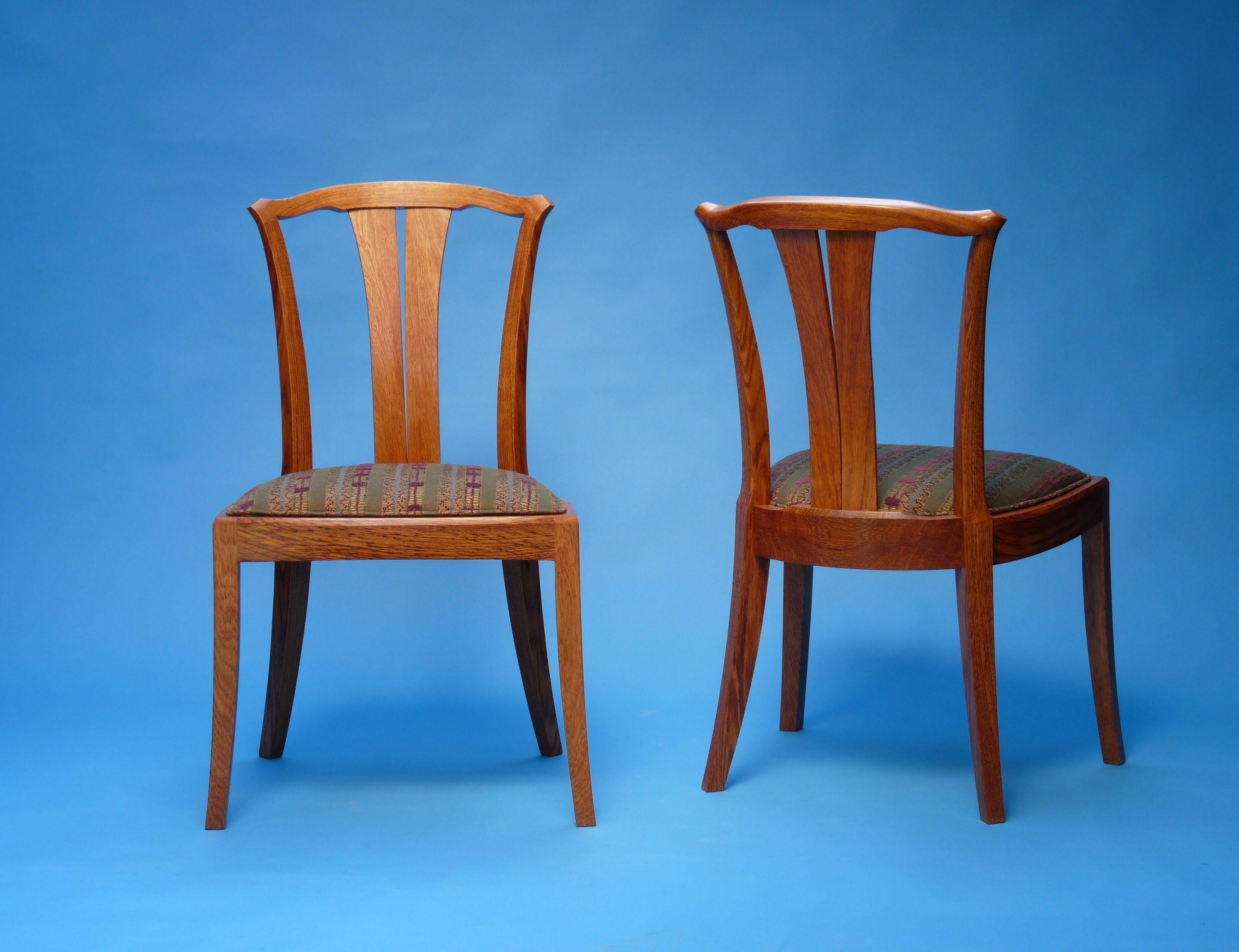 Linnea Side Chair in cherry by NWG member John Thoe
