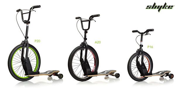 Sbyke Bike Scooter And Skateboard Into One Personal