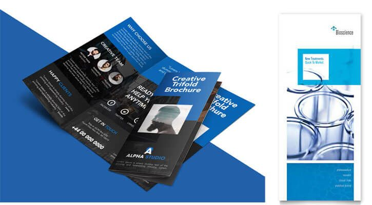 16 best tri fold brochure design templates free pro examples