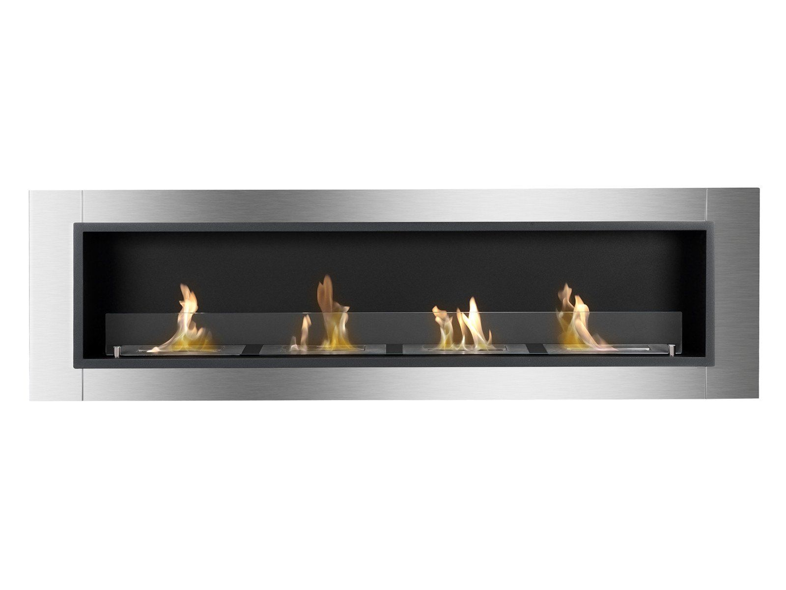 Ignis Accalia 67 Built In Wall Mounted Ethanol Fireplace Wmf  # Foxy Muebles Encastrables