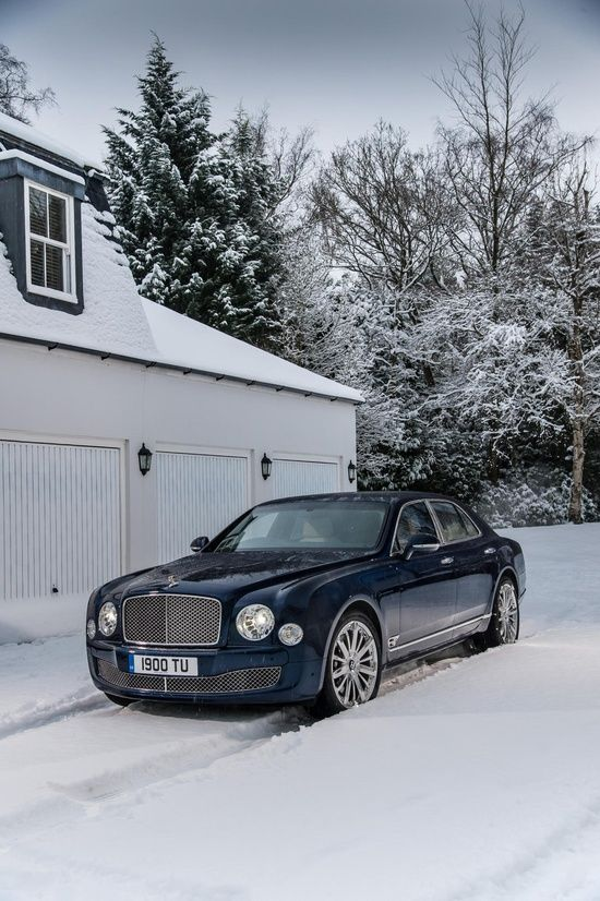 Awesome 2013 Bentley Mulsanne top gear