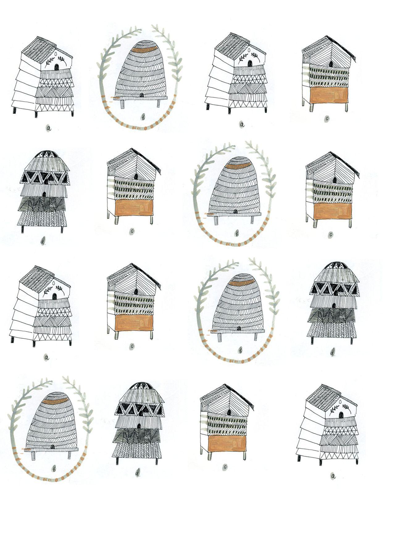 Beehive Patterns Katt Frank