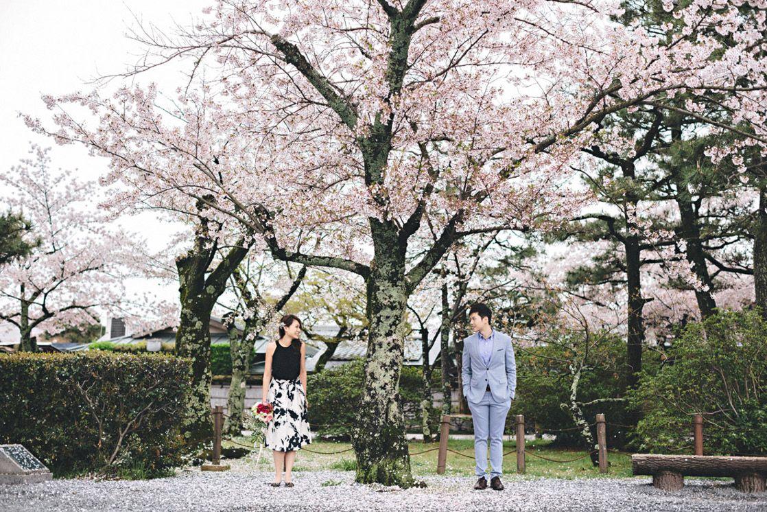 Cherry Blossoms At Kyoto Japan Destination Pre Wedding Wedding Photography Hong Kong By History Studio On Onethreeonefour Prewedding Photography Marriage Photography Wedding Photography
