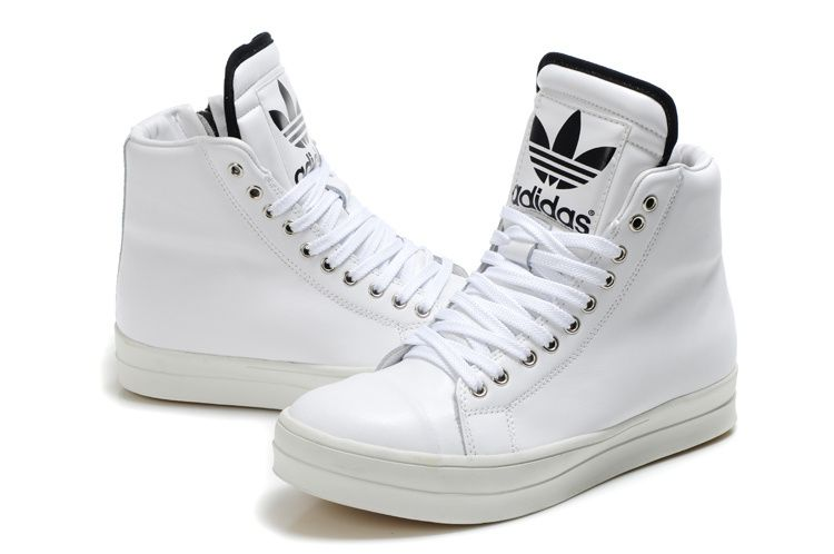 Adidas Shoes High Tops White