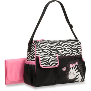I already got this for baby Em. :) matching with cover for car seat. :-D     Baby Boom - Diaper Bag, Zebra