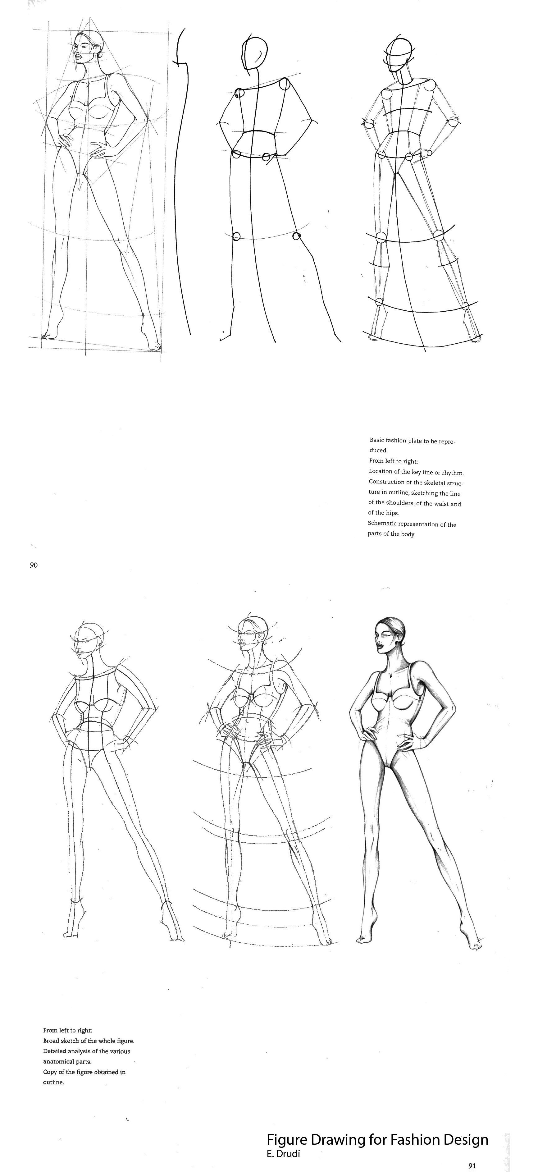 Fashion Drawing For Fashion Design E Drudi Human Drawing Drawings Fashion Drawing