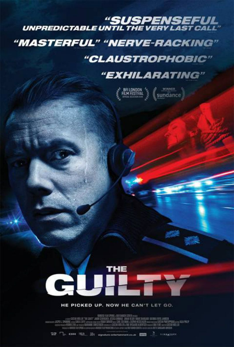 A Thoroughly Gripping Experience Held Together By A Stellar Central Performance The Guilty Is In Uk Cinemas October The Guilty Movies To Watch Online Film