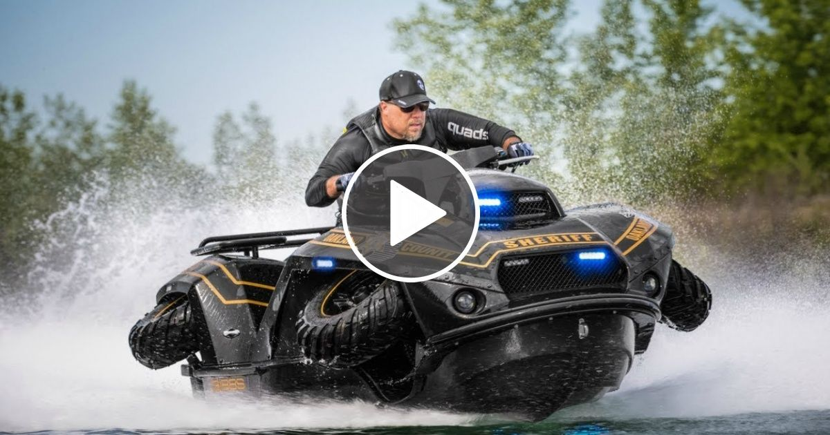 3 High Speed Amphibious Vehicle Invention That Exist Today | Viral ...