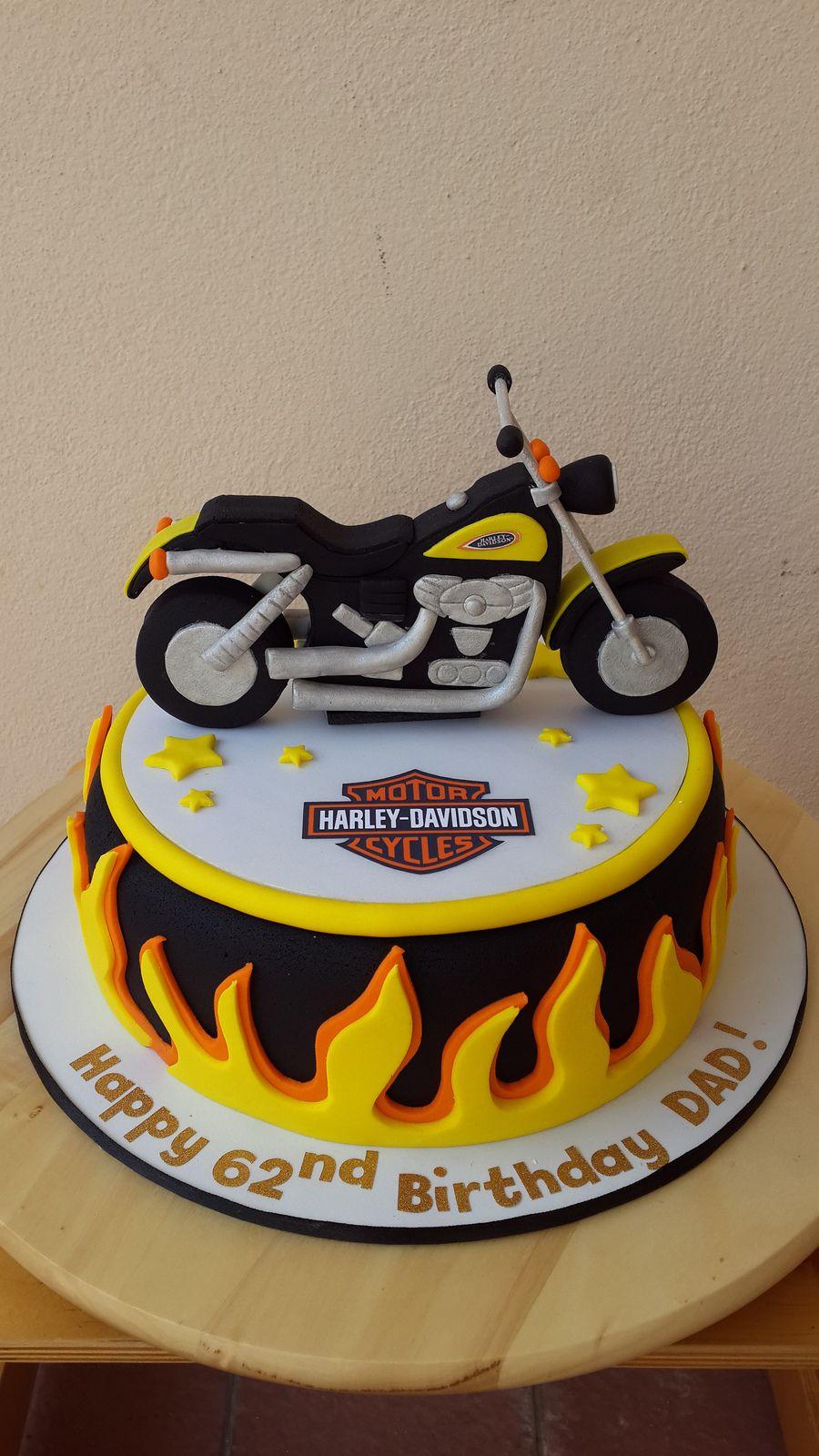 Harley Davidson Bike Transportation Cake Pinterest Harley