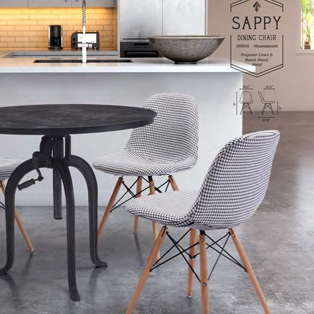 50 Cool And Creative Shabby Chic Dining Rooms: Featured: Sappy Dining Chair In A