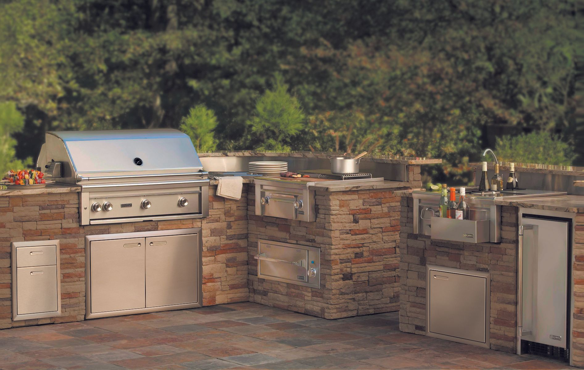 When It All Comes Together An Outdoor Kitchen So Gorgeous Functional You Won T Want To Cook Insi In 2020 Outdoor Bbq Kitchen Outdoor Kitchen Outdoor Kitchen Design