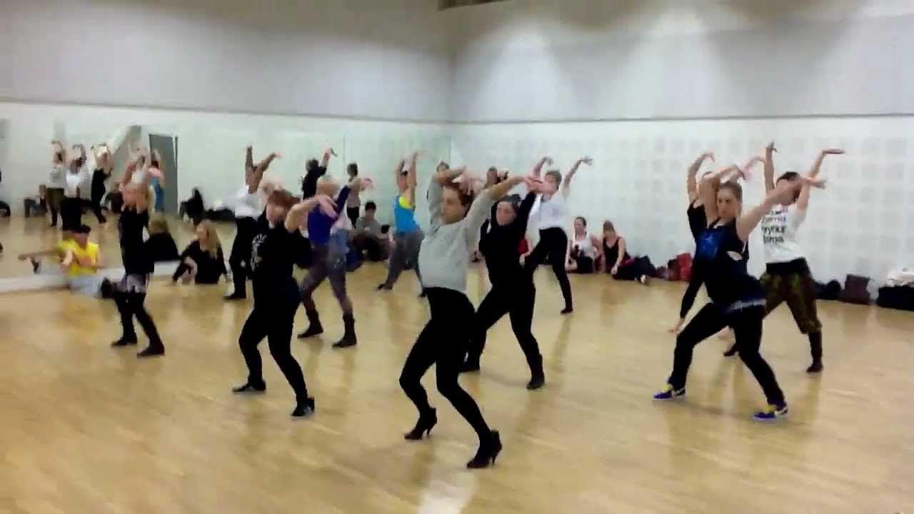 Dashaun Wesley Teaches Vogue Choreo Helsinki Finland Best Dance