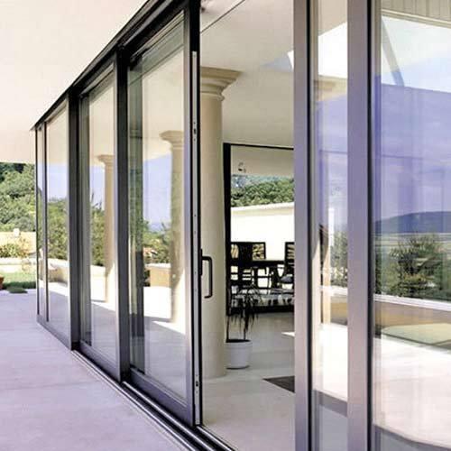 4 Panel Sliding Door Unit With Center Operable Doors Google Search In 2020 Aluminium Sliding Doors Aluminium Doors Sliding Doors