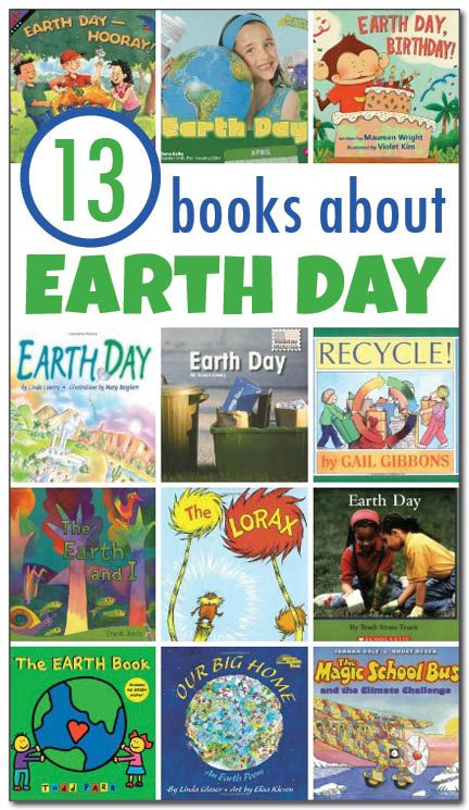 13 books about Earth Day for kids | Day book, The lorax ...