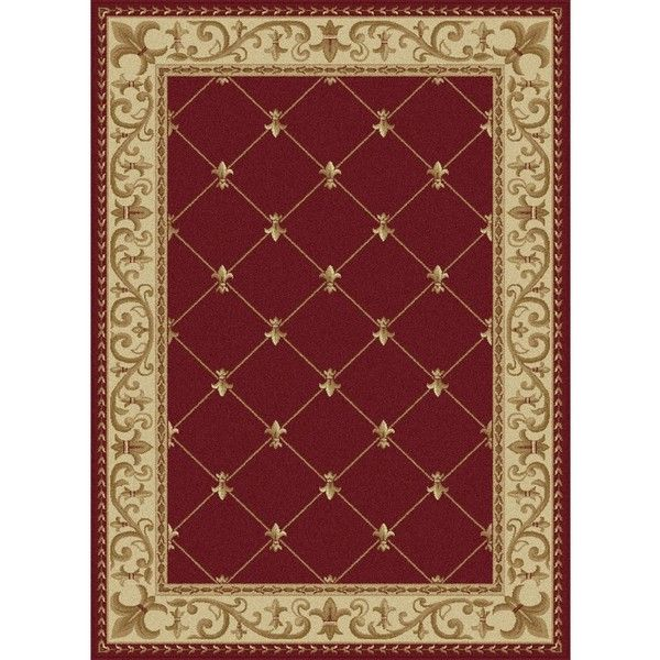 International Soho Traditional Border Area Rug 338 Liked On Polyvore Featuring Home