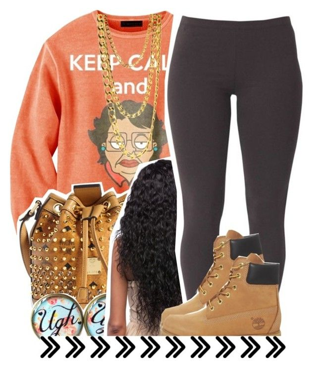 """""""Untitled #838"""" by lulu-foreva ❤ liked on Polyvore featuring MCM, Joe Browns and Timberland"""