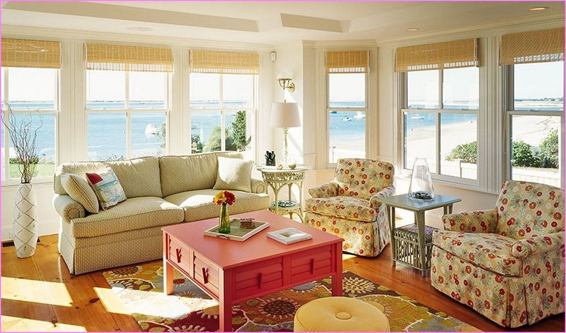 Cape Cod Decorating Style Living Room | Home Design Ideas ...