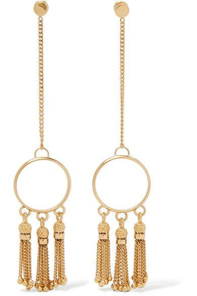 Pendant Drop Chain Fringe Earrings b1d0bcf6d