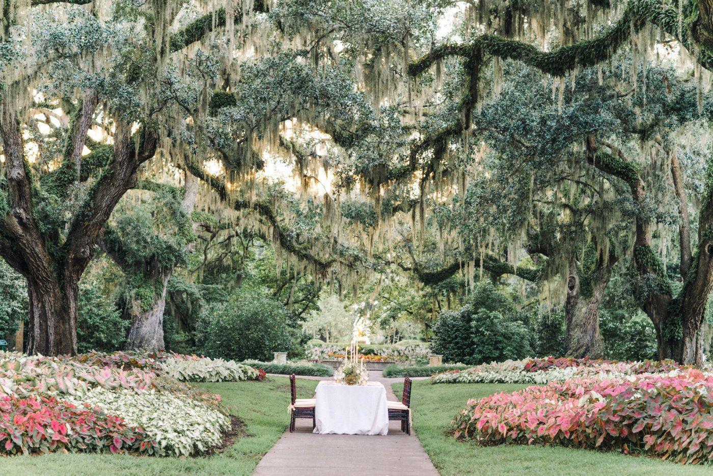 A Fairytale Garden Wedding At Brookgreen Gardens
