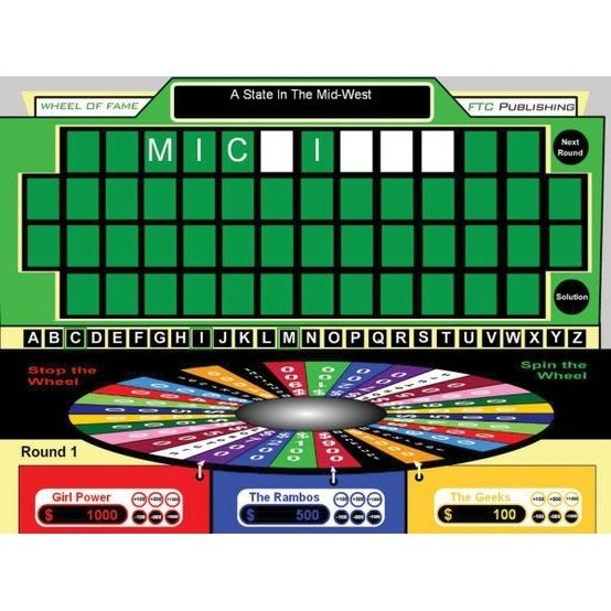 Wheel Of Fame For Interactive Whiteboards Creates Customizable Wheel Of Fortune Style Games For Your Classroo Elementary Teacher Teaching Technology Teaching