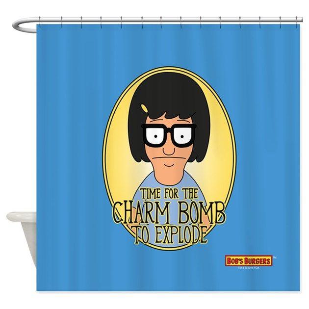 Bob S Burgers Tina Charm Bomb Shower Curtain By Bob S Burgers