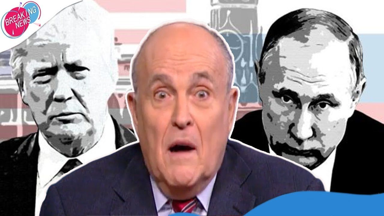 Rudy Giuliani Has A Whole New Problem Related To Russia Youtube Rudy Giuliani Scumbag