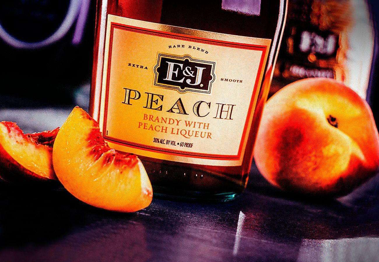 Big peach punch peach brandy drink recipe ej with
