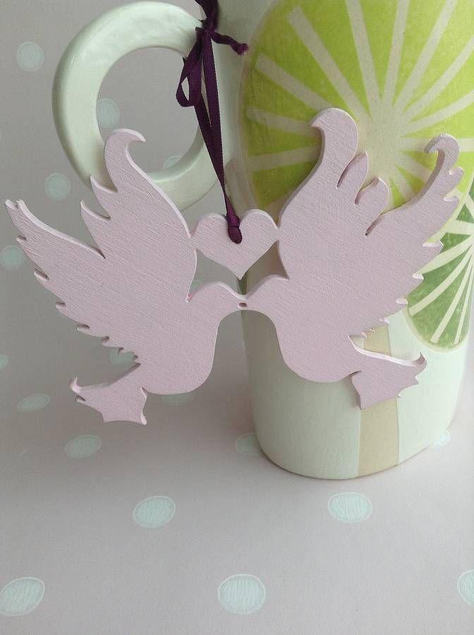 Cute Wooden Dove Wedding Favors Weddingfavor Birdwedding