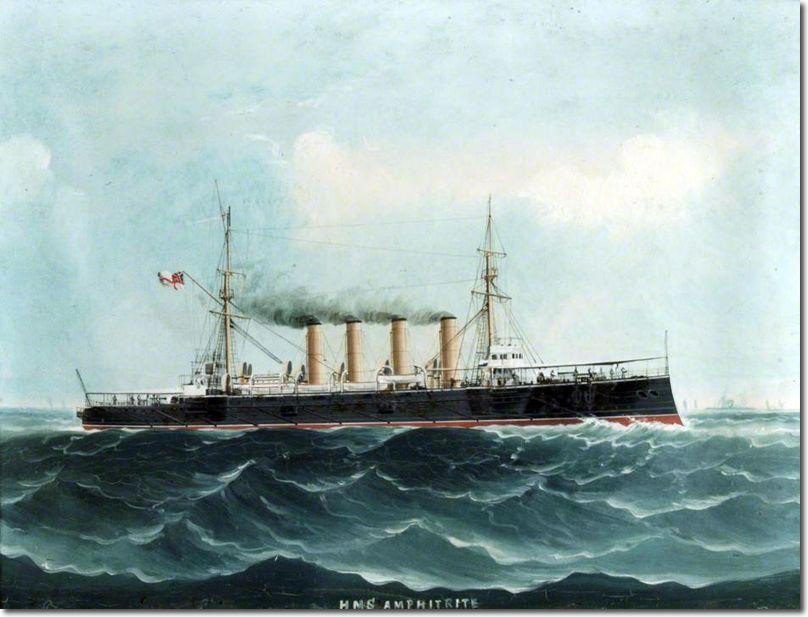 HMS Amphitrite (1898).