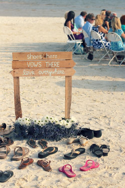 Cute Sign At Biloxi Mississippi Beach Wedding Shoes Here Vows There Love Everywhere Uninvented Colors Photography
