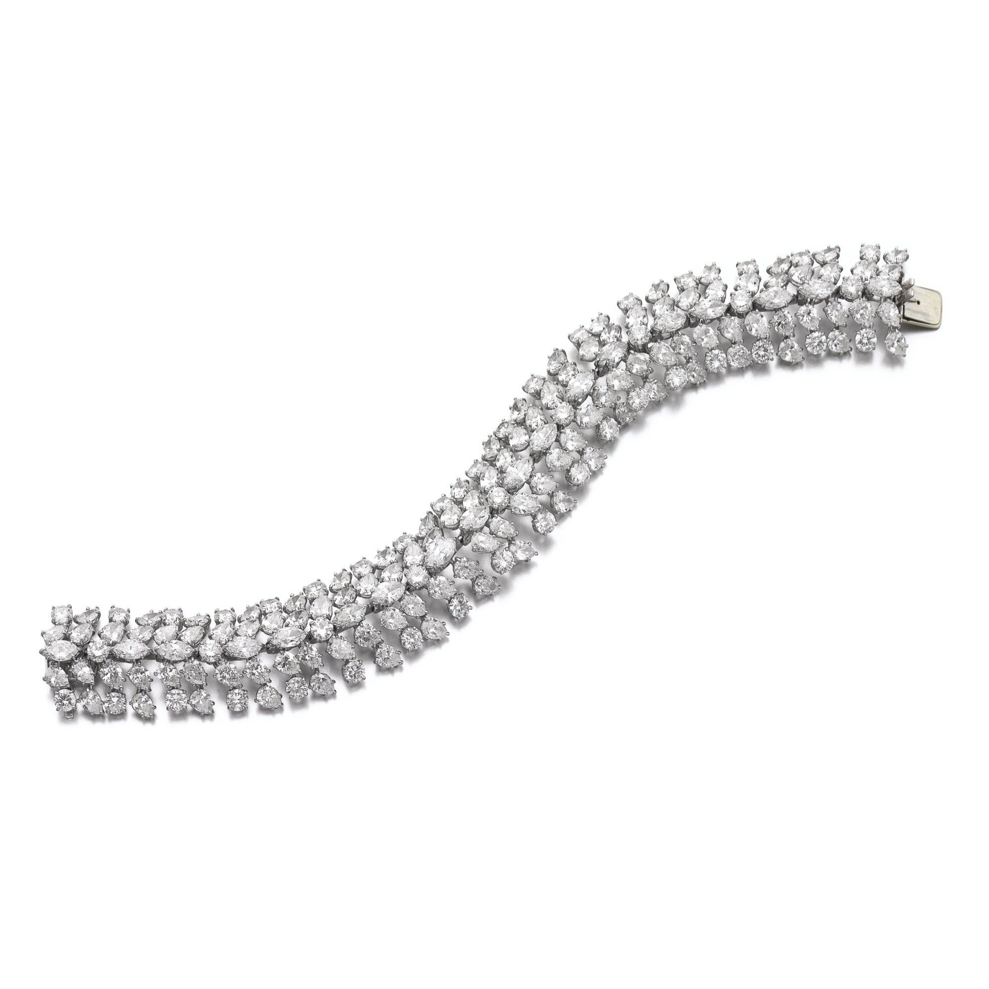 nyr jewels diamond marquise christie christies deco online bracelet s art