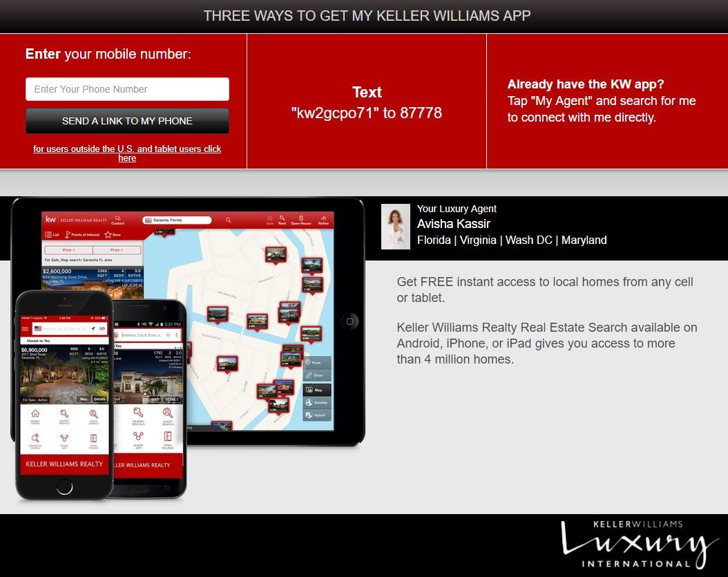 DOWNLOAD OUR FREE APP TO SEARCH FOR HOMES LIKE AN AGENT
