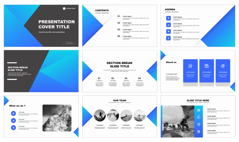 Solid Business Free Powerpoint Template And Google Slides Theme Powerpoint Templates Powerpoint Design Templates Google Slides Themes