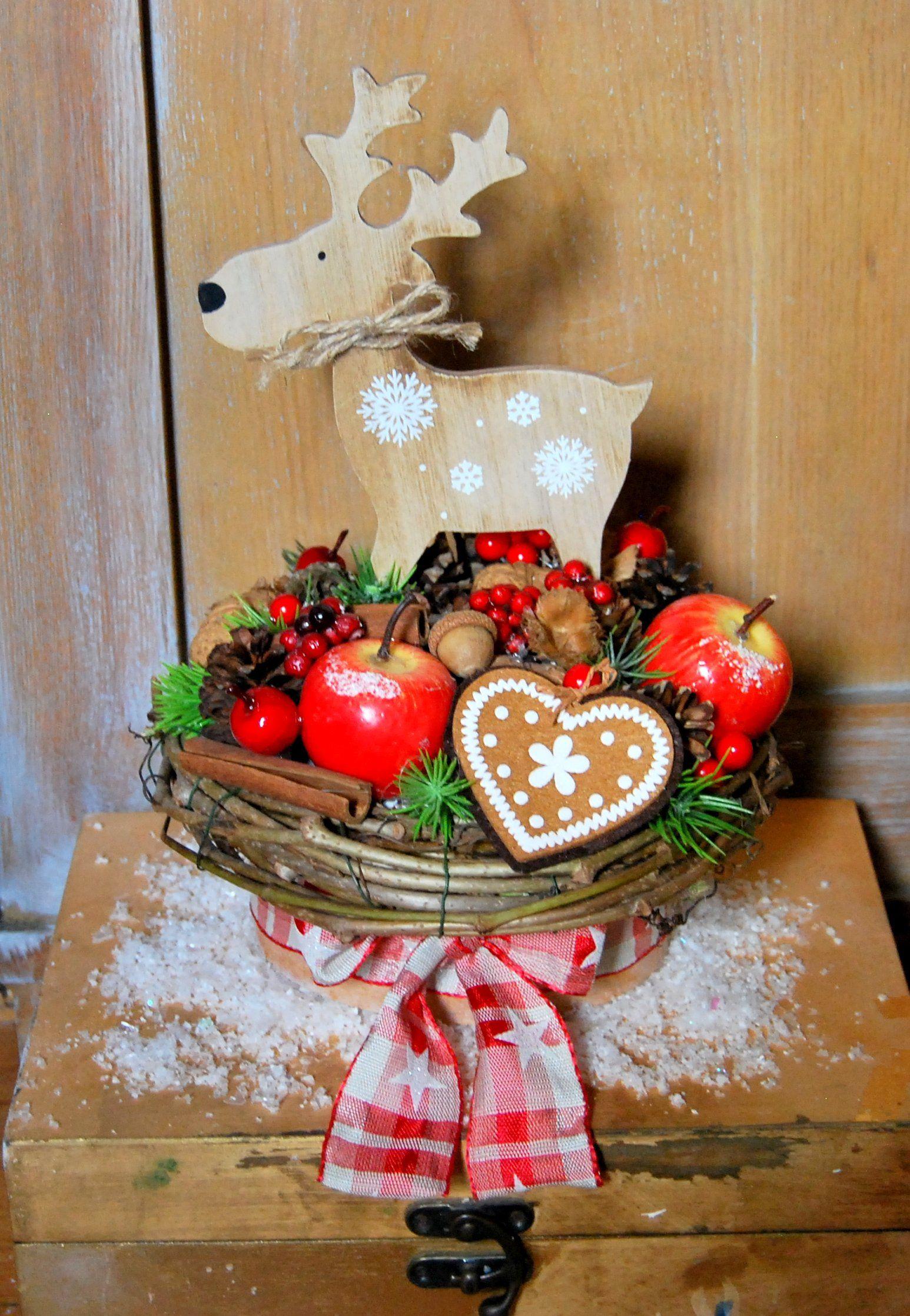 Stroik świąteczny, dekoracja świąteczna, stroik na Boże