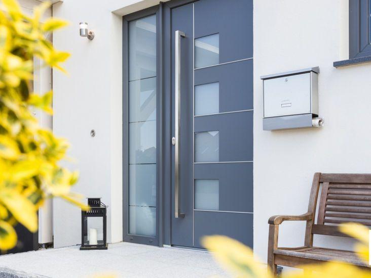 schicke t r h user und hauspl ne pinterest haus t ren und haust r. Black Bedroom Furniture Sets. Home Design Ideas