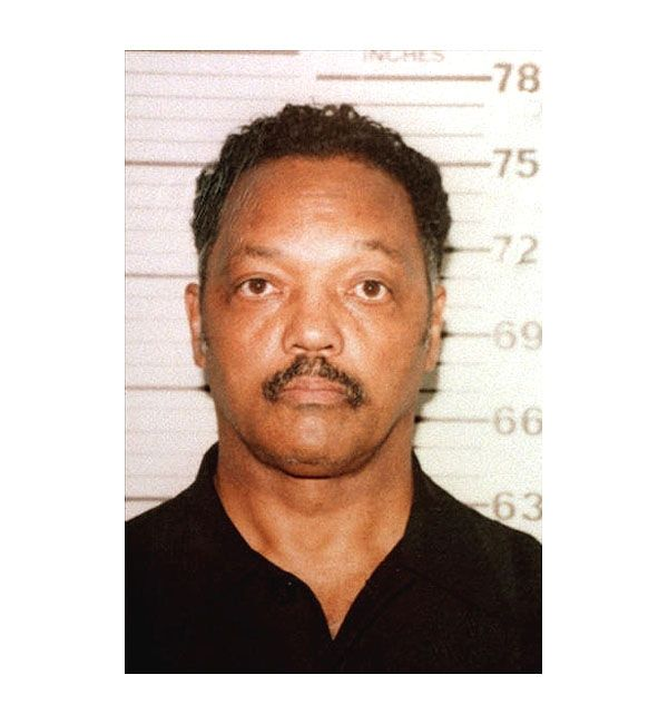 Jesse Jackson was arrested by Decatur, Illinois cops in