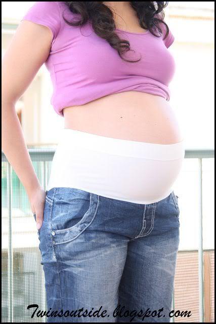 Telas Elasticas Para Fajas Como Hacer Una Banda Faja Para No Abrocharse Los Pantalones Ropa De Maternidad Ropa Para Embarazadas Pantalones Embarazada