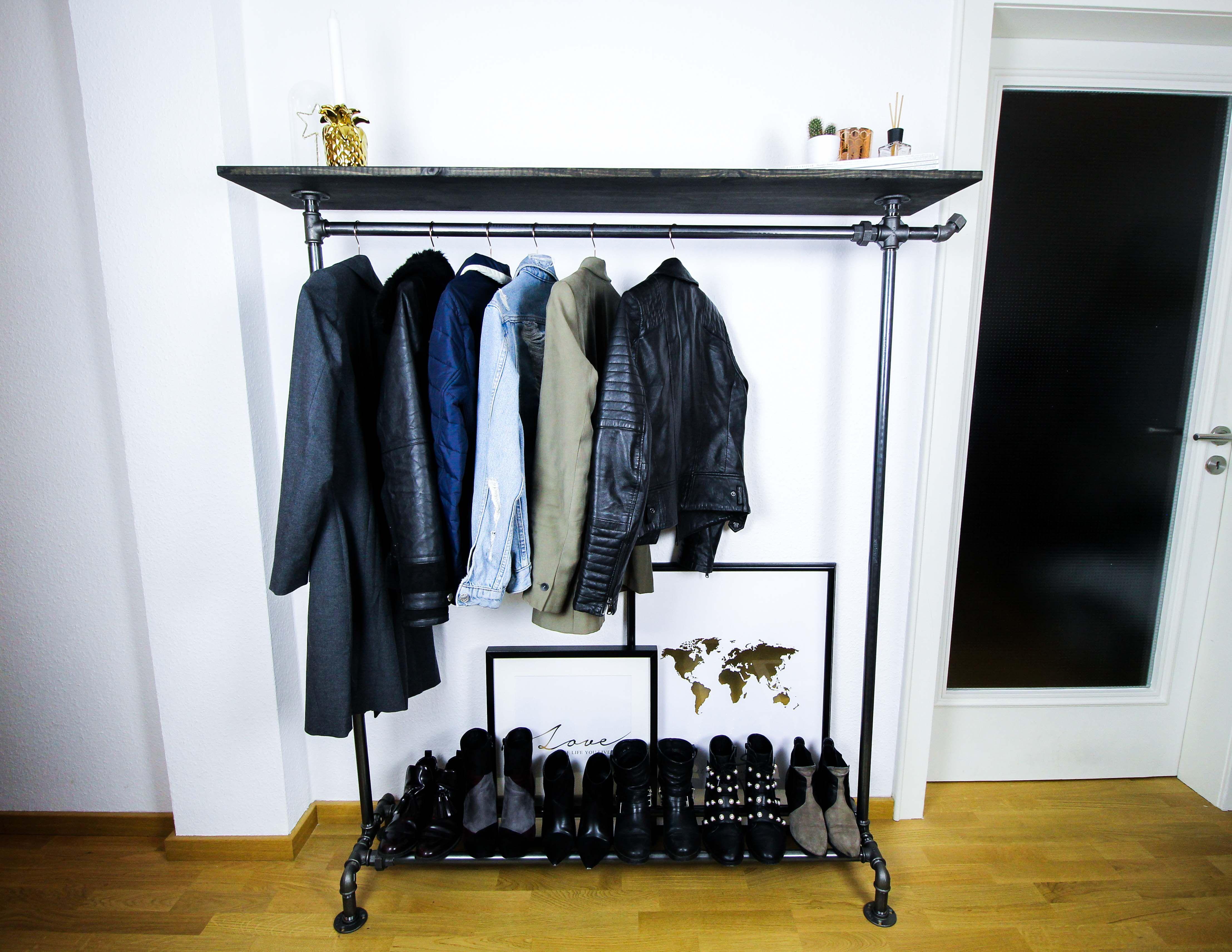 Blogger Adventskalender Gewinnspiel Rackbuddy Regal Kleiderstange Rohre Billy Interior Ankleidezimmer