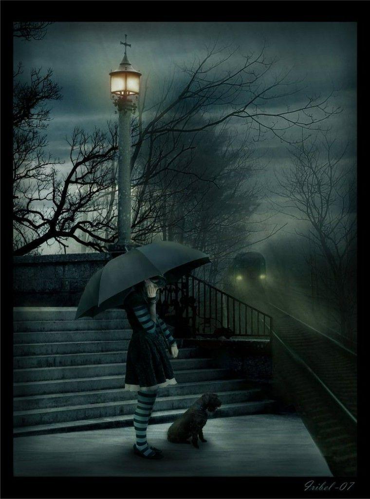 images of rain   emo girls images the sad rain HD ...