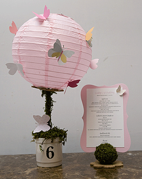 Paper Lantern Centerpiece ~ Luna Bazaar Blog - Decorate & Celebrate! - Paper Lantern Centerpiece ~ Luna Bazaar Blog - Decorate